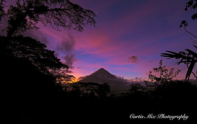 Arenal Volcano.