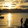 Sunset fishing, Puerto Viejo