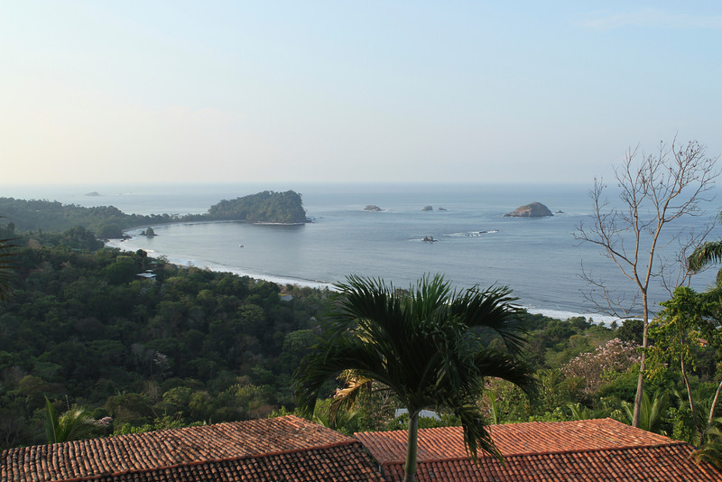 View of Antonio Manuel beach, from Hotel Mariposa