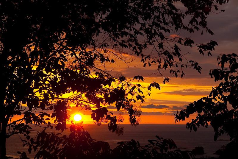 Sunset, Manuel Antonio
