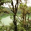 Crater lake of Cerro Chato volcano, Arenal Volcano National Park