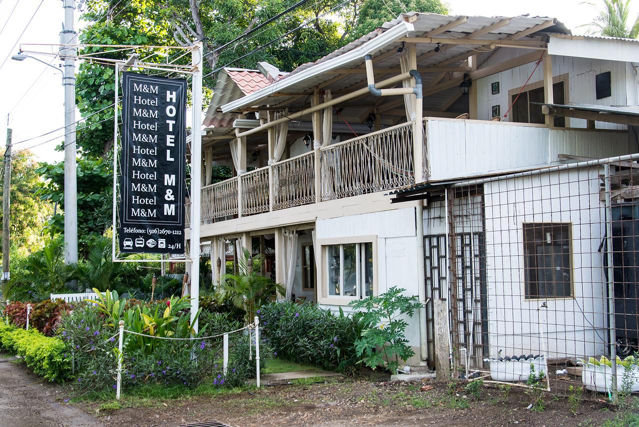 Hotel M&M in Playas Del Coco, Costa Rica - December 2014
