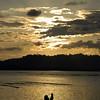 Sunset swim, Puerto Viejo