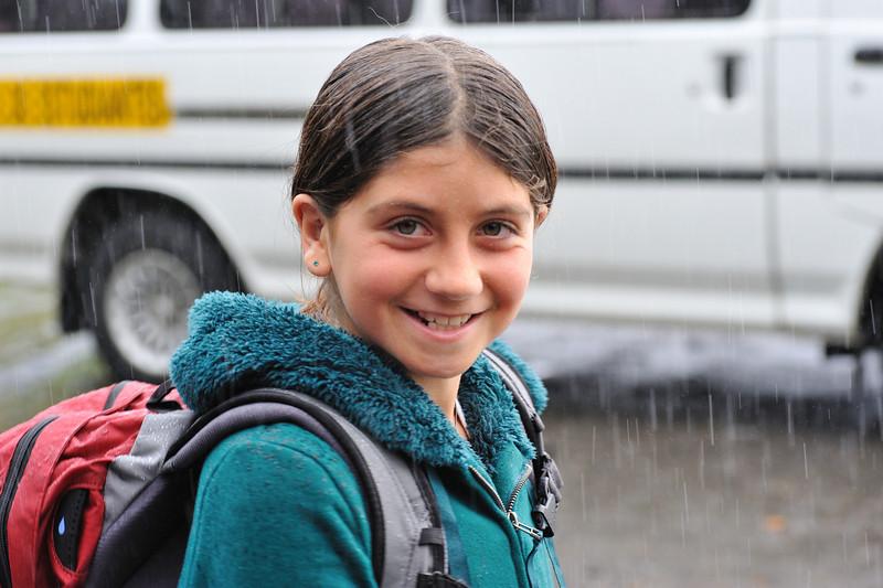 Ava likes rain