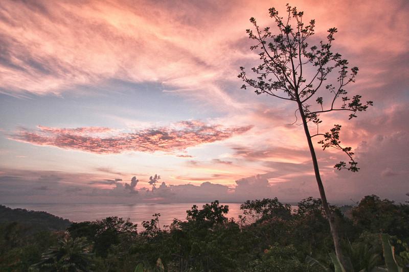 Sunset, Hotel Mariposa, Manuel Antonio, Costa Rica