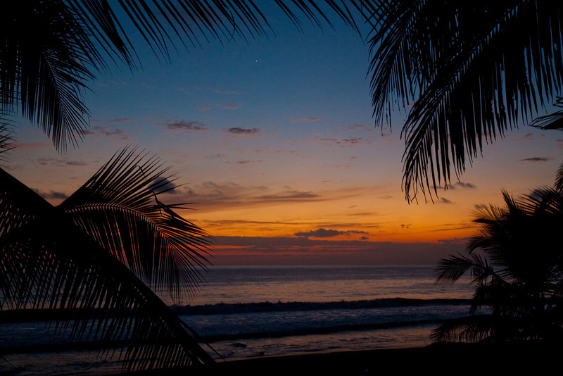 Sunset, Playa Hermosa