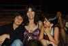 Henry, Jessica and Ava at bullfight