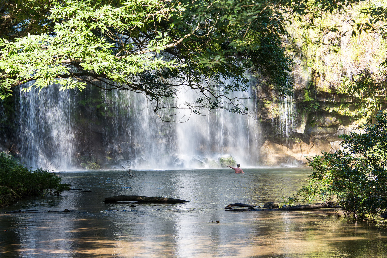 Llanos Del Cortez Waterfall, Cost Rica - December 2014
