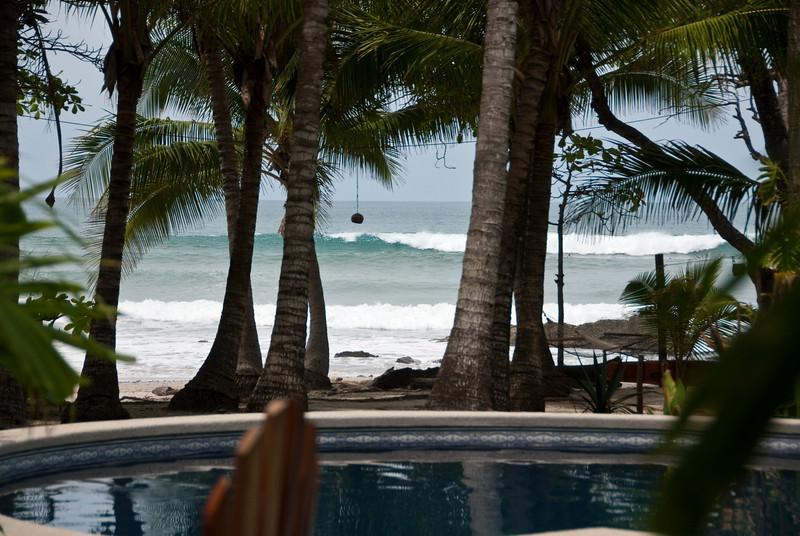 View from the bar at Hotel Tropico Latino.