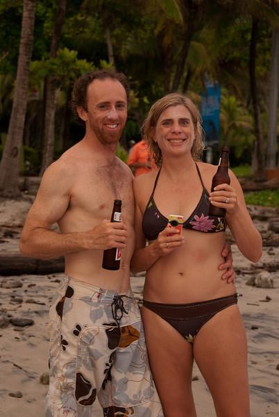 Scott and Tierza.