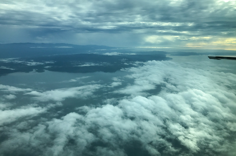 Pacific Ocean from the Air