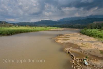 View From The Crocodile Bridge, Costa Rica