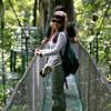 suspension bridge tour in Monteverde