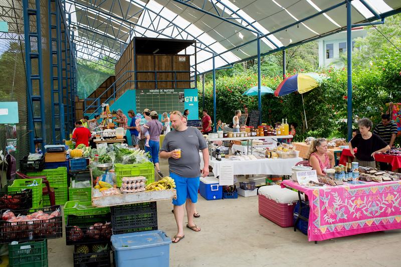 Saturday morning market, Uvita CR