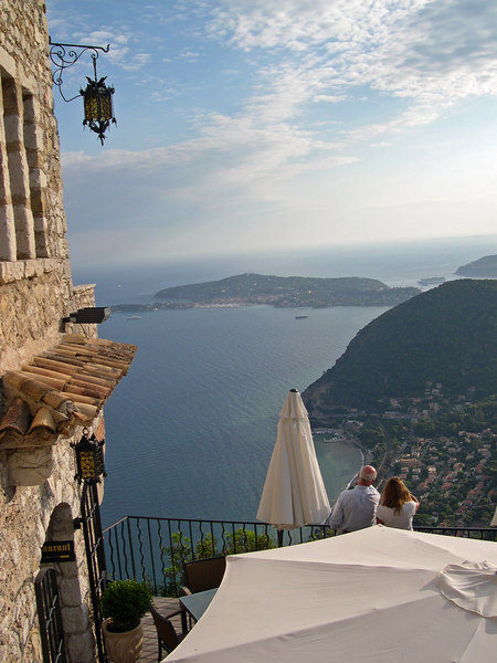 Eze view over Mediterranean