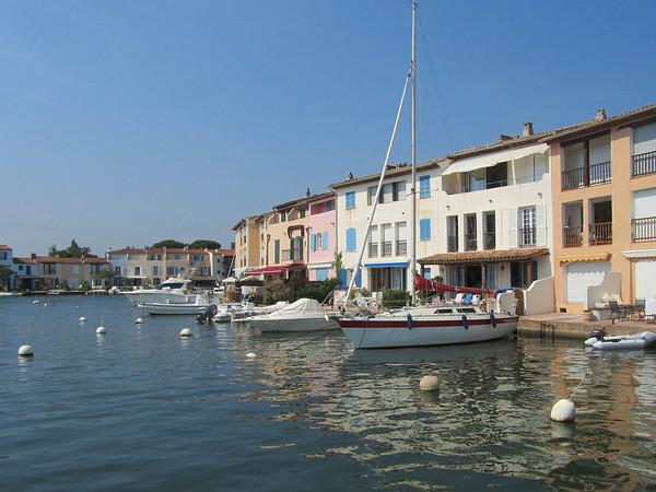 Front door boat docks!  Life is tough here.  :)