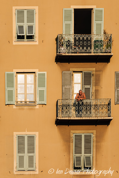 Windows in Nice France