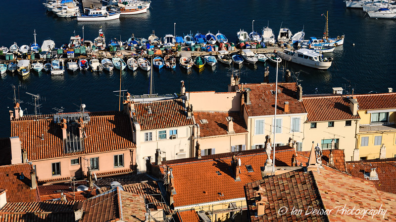 Rooftops at Cannes Harbour