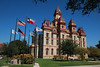 Courthouse in Lockhart, Texas, Oct 23, 2011