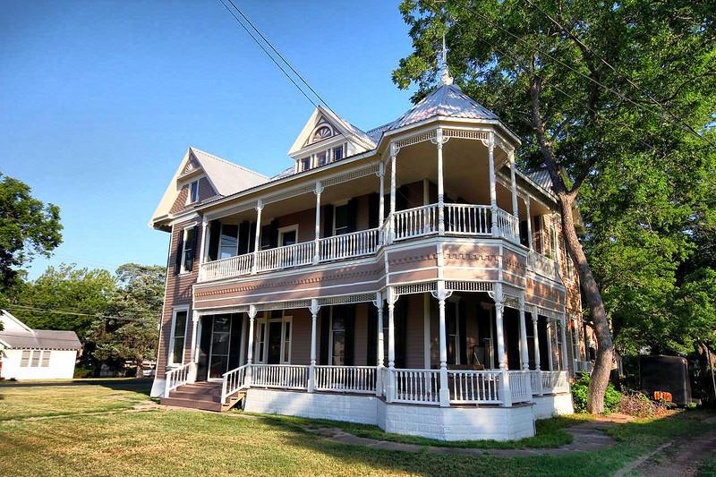 Victorian house in LaGrange. Tx. 6-10-2011.
