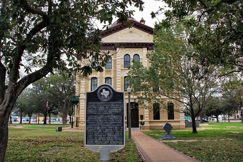 Colorado County Courthouse in Columbus, Texas.