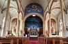 Chapel of Saints Cyril and Methodius Catholic Church, Shiner, Texas.