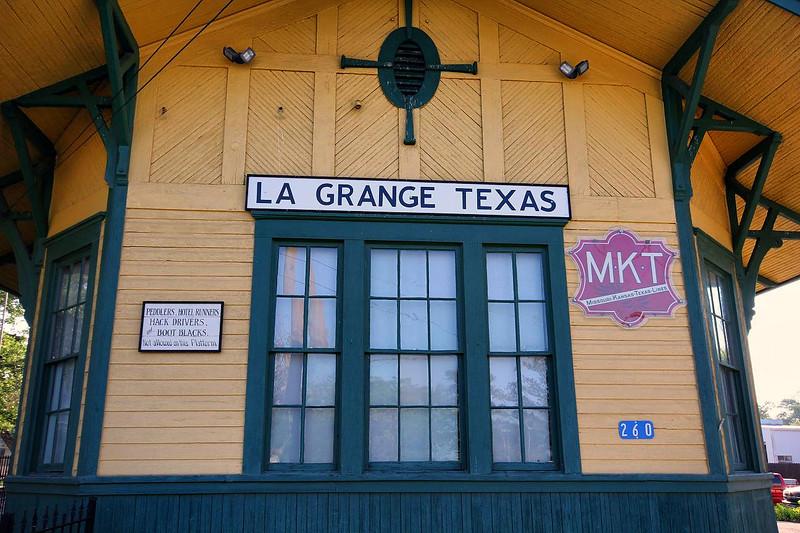 LaGrange MKT railroad station, 4-1-2011.