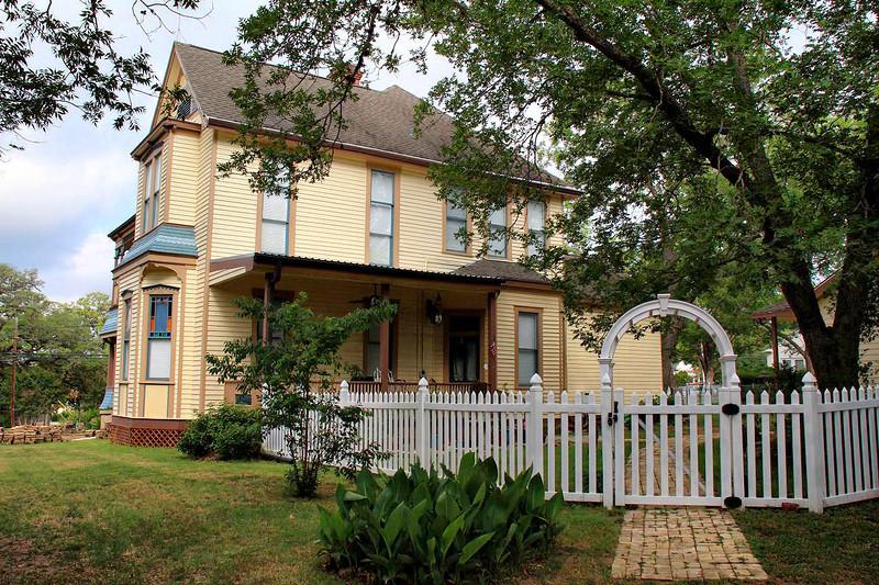 Victorian house in LaGrange, 6-10-2011.