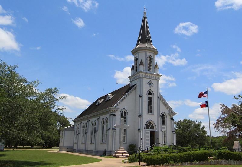 Saints Cyril and Methodius Catholic Church in Dubina, Texas June 2, 2012.