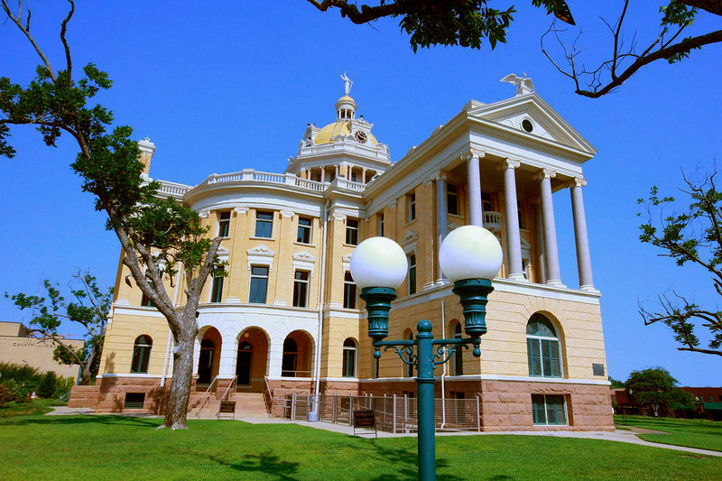 Marshall County Courthouse in Marshall, Texas July 11, 2011