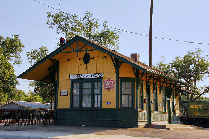 LaGrange Railroad Depot, 6-10-2011.