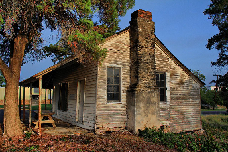 Historic old home in Anderson, Tx. 7-1-2011.