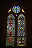 High Hill church, more stained glass art.