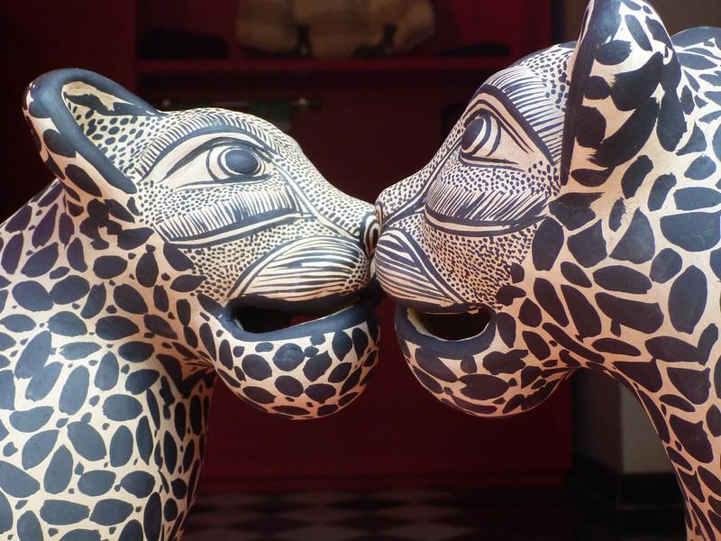 A tiger kiss.