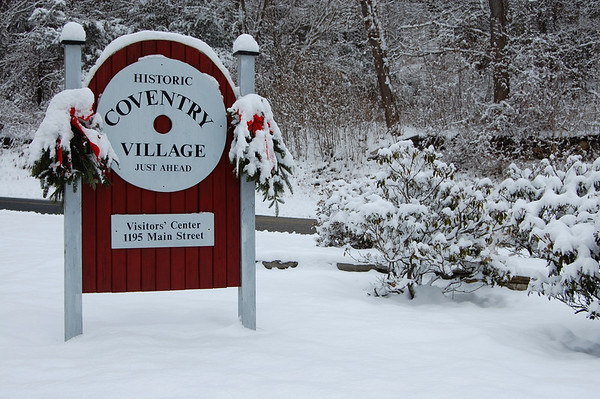 Coventry Village sign