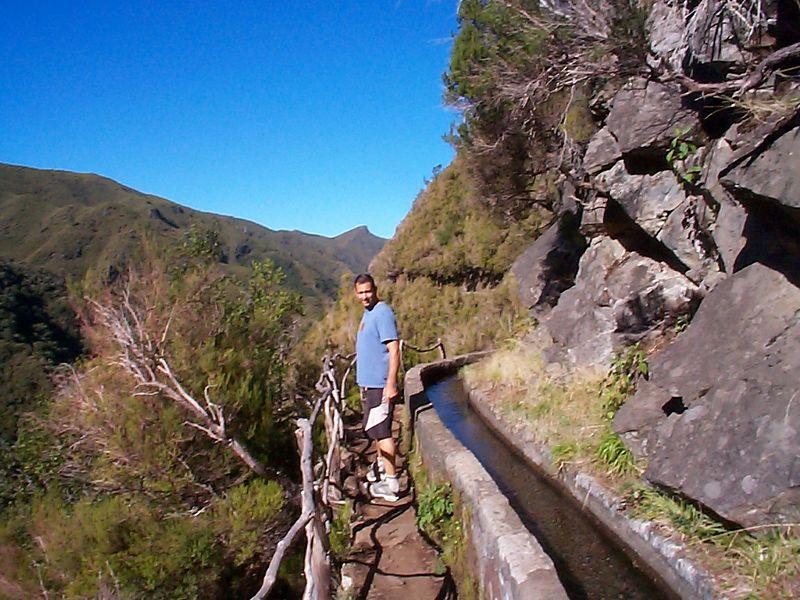 Levada trail