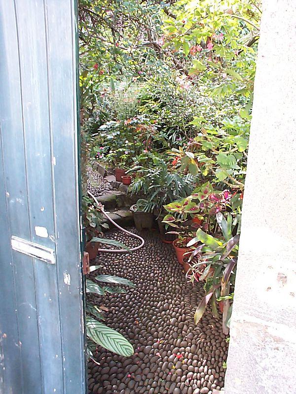 Intimate patio