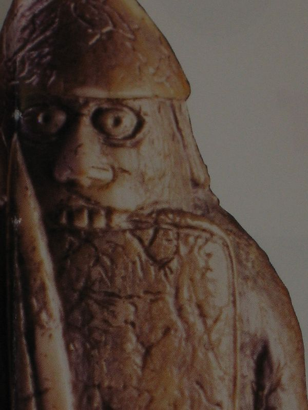 Oldest chess piece in the world carved by Vikings from Walrus ivory