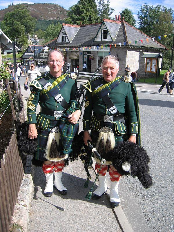 Highland chaps