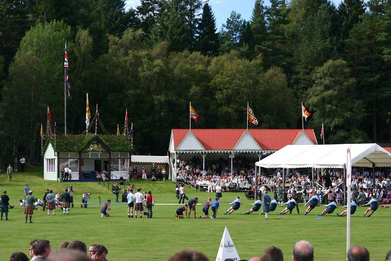 Highland Games National Tug-of-War