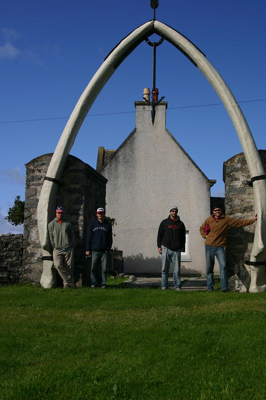 88 ft blue whale jaw bone