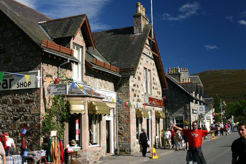 Highland ski town