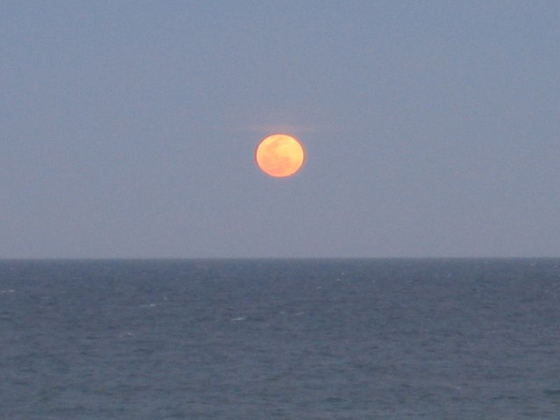 Another Baja moonrise