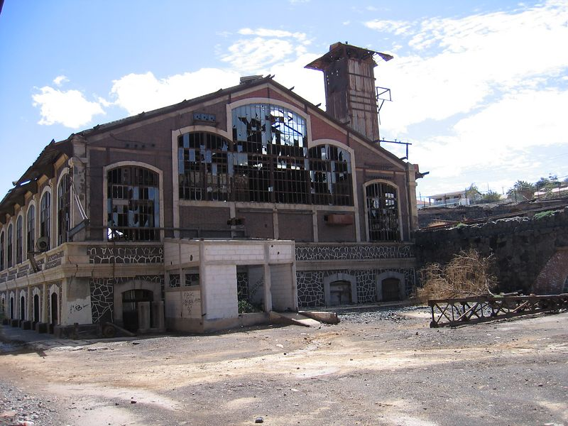 Colonial French mining works