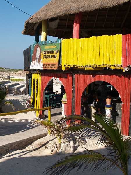RASTA BAR ON SOUTH END OF ISLAND
