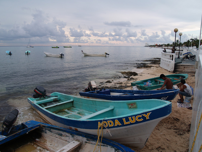 FISHING BOATS NEAR SAN MIGUEL