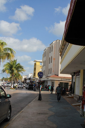 Cozumel shopping district
