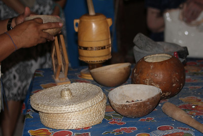 items in a typical Mayan kitchen