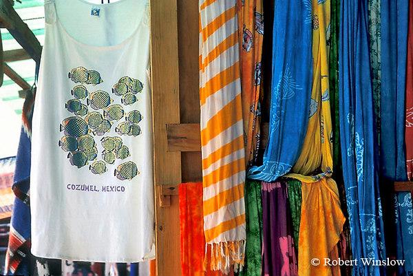 Tourist Shop, Cozumel Island, State of Quintana Roo, Yucatan Peninsula, Mexico