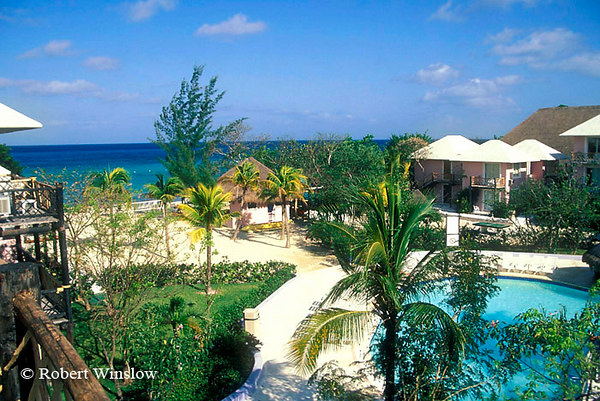 Reef Club Resort, Cozumel Island, State of Quintana Roo, Yucatan Peninsula, Mexico